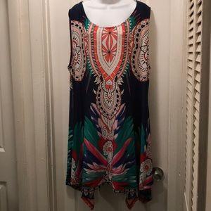 I've Silk Dress 3XL